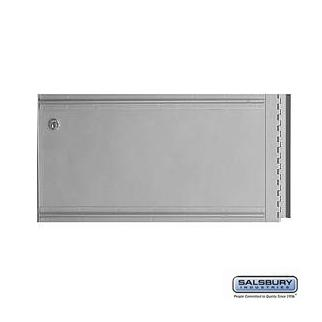 Salsbury 2252 Aluminum Mailbox Rack Ladder System Rear Cover
