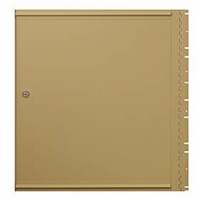 Salsbury 2050 Rear Cover Locking For Rear Loading Brass Mailboxes