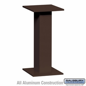 Salsbury 3495BRZ Replacement Pedestal - for 4C Pedestal Mailbox