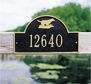 Retriever Arch - Standard Wall Plaque - One Line