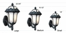 Rose Garden Large Bottom Mount Wall Bracket Lighting Fixture