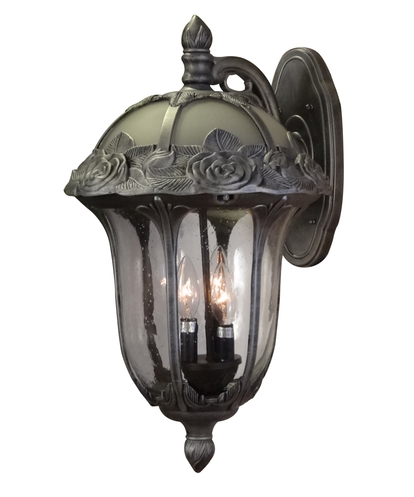 Wall Bracket Light Fixtures : Special Lite Lighting Rose Garden Large Top Mount Wall Bracket Lighting Fixture Street Light