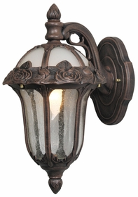 Rose Garden Medium Top Mount Wall Bracket Lighting Fixture