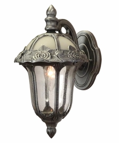 Rose Garden Small Top Mount Wall Bracket Lighting Fixture