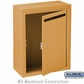 Salsbury 2240BU Letter Box - Standard - Surface Mounted - Brass - USPS Access