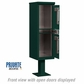 Salsbury 3302GRN-P Outdoor Parcel Locker Sandstone 2 Compartments