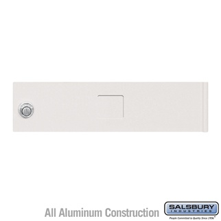 Salsbury 3451WHT 4C Pedestal Mailboxes Replacement Door