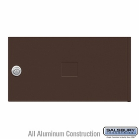 Salsbury 3452BRZ 4C Pedestal Mailboxes Replacement Door