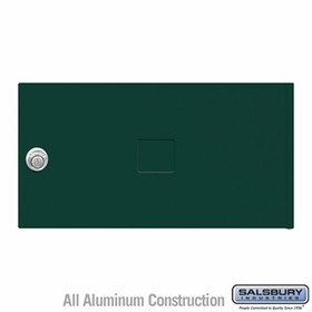 Salsbury 3452GRN 4C Pedestal Mailboxes Replacement Door
