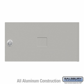 Salsbury 3452GRY 4C Pedestal Mailboxes Replacement Door
