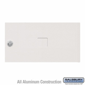 Salsbury 3452WHT 4C Pedestal Mailboxes Replacement Door