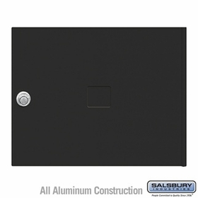 Salsbury 3453BLK 4C Pedestal Mailboxes Replacement Door
