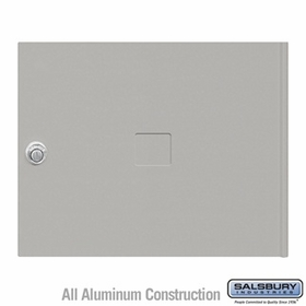 Salsbury 3453GRY 4C Pedestal Mailboxes Replacement Door
