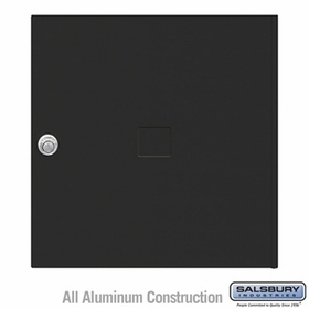 Salsbury 3454BLK 4C Pedestal Mailboxes Replacement Door