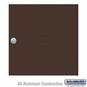 Salsbury 3454BRZ 4C Pedestal Mailboxes Replacement Door