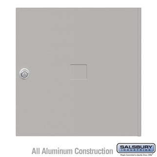 Salsbury 3454GRY 4C Pedestal Mailboxes Replacement Door