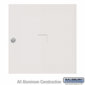 Salsbury 3454WHT 4C Pedestal Mailboxes Replacement Door