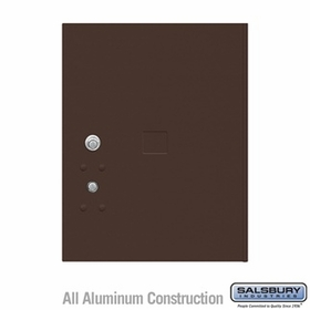 Salsbury 3455BRZ 4C Pedestal Mailboxes Replacement Door