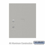 Salsbury 3455GRY 4C Pedestal Mailboxes Replacement Door