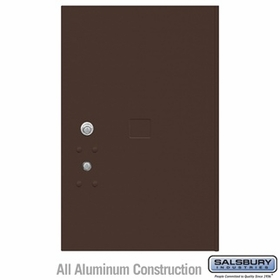 Salsbury 3456BRZ 4C Pedestal Mailboxes Replacement Door