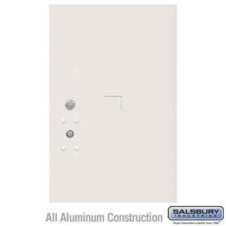 Salsbury 3456WHT 4C Pedestal Mailboxes Replacement Door