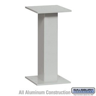 Salsbury 3495GRY 4C Pedestal Mailboxes Replacement Pedestal