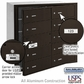 Salsbury 3610ZFU 4B Mailboxes 9 Tenant Doors Front Loading - USPS Access