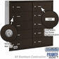 Salsbury 3610ZRP 4B Mailboxes 10 Tenant Doors Rear Loading - Private Access