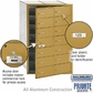 Salsbury 3614GFP 4B Mailboxes 13 Tenant Doors Front Loading - Private Access