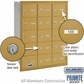 Salsbury 3615GRP 4B Mailboxes 15 Tenant Doors Rear Loading - Private Access