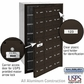 Salsbury 3621ZFU 4B Mailboxes 20 Tenant Doors Front Loading - USPS Access