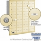 Salsbury 3624SRP 4B Mailboxes 24 Tenant Doors Rear Loading - Private Access