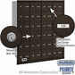Salsbury 3624ZRP 4B Mailboxes 23 Tenant Doors Rear Loading - Private Access