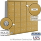 Salsbury 3630GRU 4B Mailboxes 29 Tenant Doors Rear Loading - USPS Access
