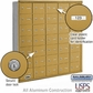 Salsbury 3635GRU 4B Mailboxes 34 Tenant Doors Rear Loading - USPS Access