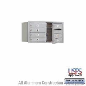 Salsbury 3704D-06AFU 4C Mailboxes 6 Tenant Doors Front Loading
