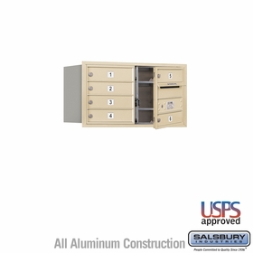 Salsbury 3704D-06SFU 4C Mailboxes 6 Tenant Doors Front Loading
