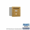 Salsbury 3704S-01GRP 4C Mailboxes 1 Tenant Doors Rear Loading