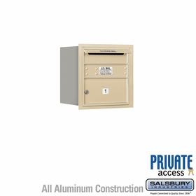Salsbury 3704S-01SRP 4C Mailboxes 1 Tenant Doors Rear Loading