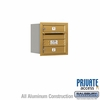 Salsbury 3704S-02GRP 4C Mailboxes 2 Tenant Doors Rear Loading