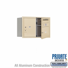 Salsbury 3705D-01SFP 4C Mailboxes 1 Tenant Doors Front Loading