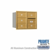 Salsbury 3706D-05GRP 4C Mailboxes 5 Tenant Doors Rear Loading