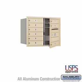 Salsbury 3706D-09SFU 4C Mailboxes 9 Tenant Doors Front Loading