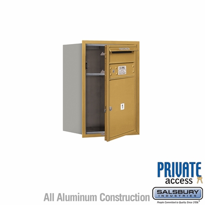 Salsbury 3706S-01GFP 4C Mailboxes 1 Tenant Doors Front Loading