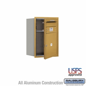 Salsbury 3706S-01GFU 4C Mailboxes 1 Tenant Doors Front Loading