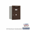 Salsbury 3706S-01ZRU 4C Mailboxes 1 Tenant Doors Rear Loading