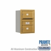 Salsbury 3706S-02GRP 4C Mailboxes 2 Tenant Doors Rear Loading