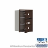 Salsbury 3706S-02ZFP 4C Mailboxes 2 Tenant Doors Front Loading