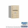 Salsbury 3706S-04SRP 4C Mailboxes 4 Tenant Doors Rear Loading
