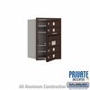 Salsbury 3706S-04ZFP 4C Mailboxes 4 Tenant Doors Front Loading